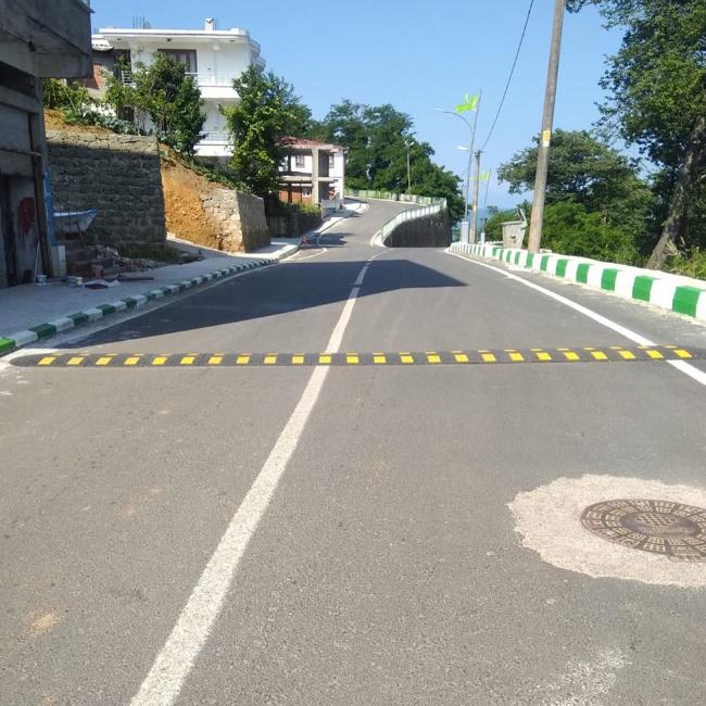 Yollara Hız Kesici ve Güvenlik Aynası Yerleştirildi