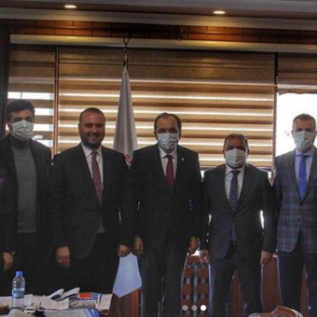 Milletvekili Sayın Muhammet BALTA'dan Belediyemize Ziyaret