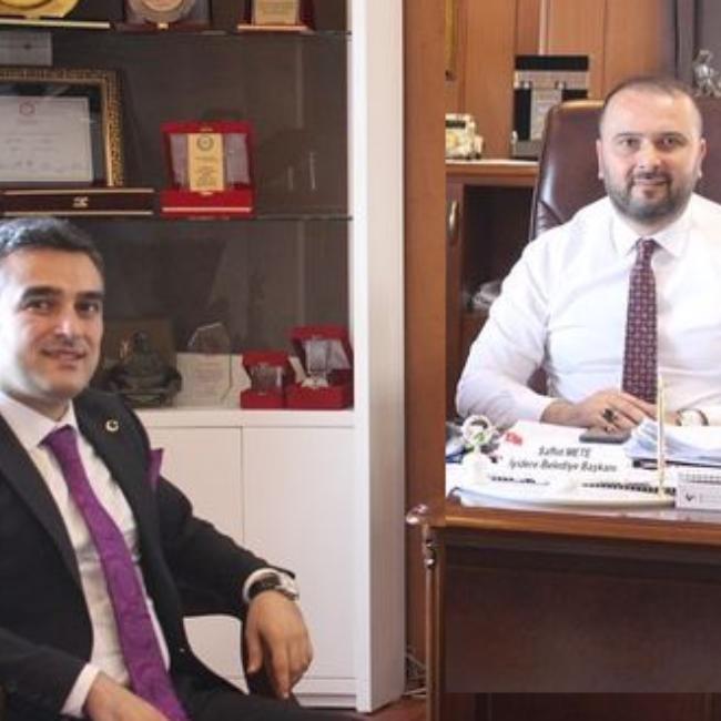Rize Çevre ve Şehircilik İl Müdürü Ali Serkan SAVAŞ Belediyemizi Ziyarette bulundu.
